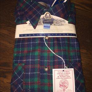 Men's Pendleton virgin wool plaid shirt